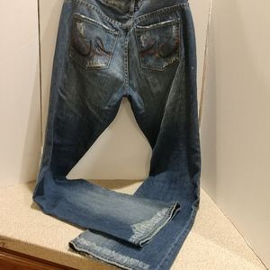 Destroyed Distressed Express Jeans Size 8